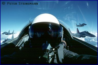Flying in Indian Air Force MiG-29