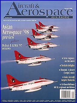 Aircraft & Aerospace with RSAF Black Knights aerobatic team on the cover