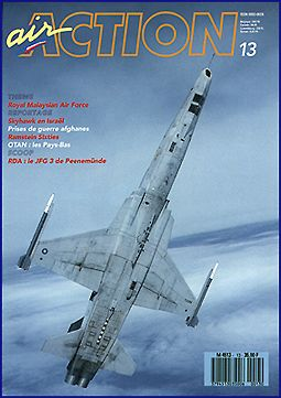 air Action with RMAF RF-5E Tiger II on the cover