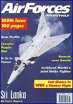 AirForces monthly with SLAF Kfir on the cover